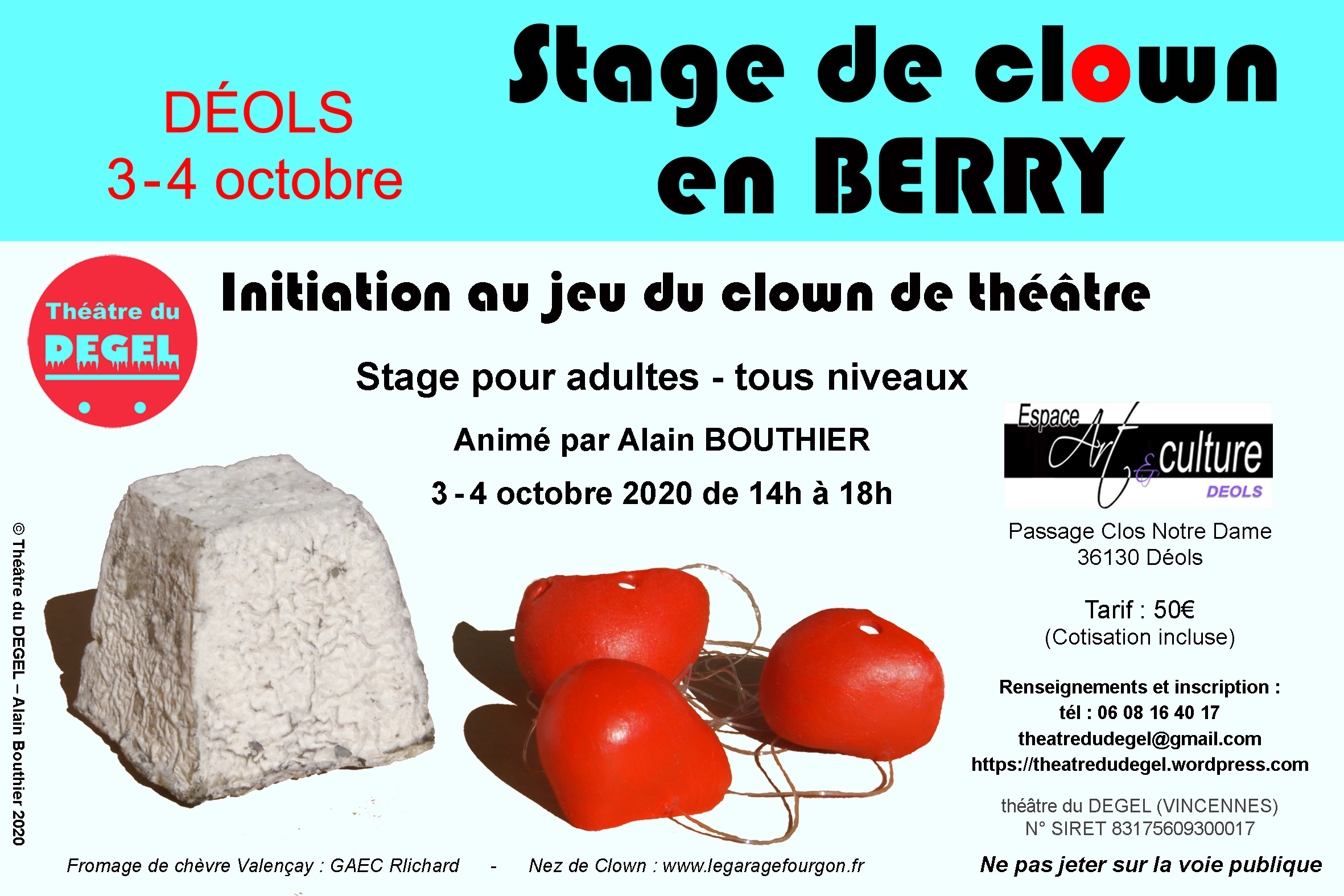 Stage-Déols-2020-10 EAC-flyer