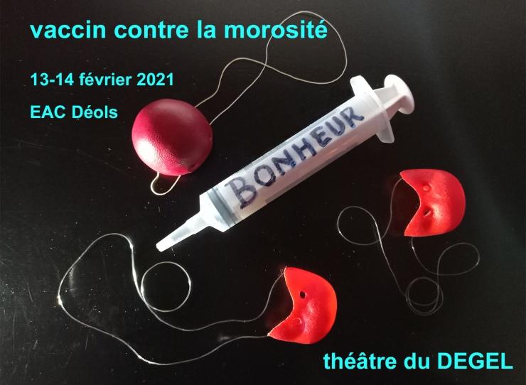Théâtre du DEGEL Piqûre de BONHEUR